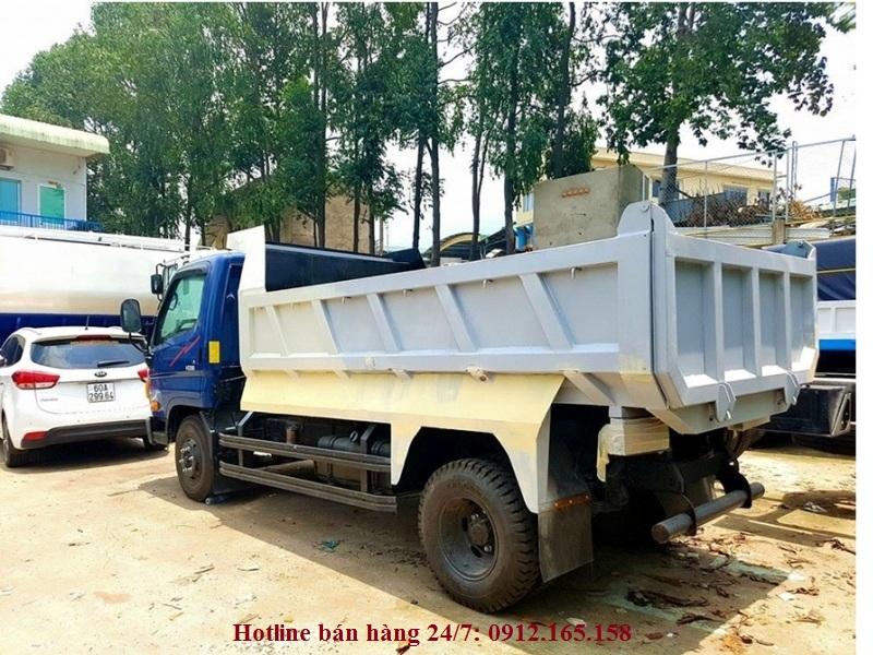 bán xe ben Hyundai HD88 tải trọng chơ phép chở 5 tấn đóng mới đoài 2016, 2017